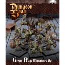 Green Rage Miniatures Set: Dungeon Saga
