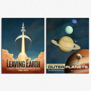 BUNDLE Leaving Earth & Mercury Expansion+ outer planets