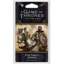 For Family Honor: A Game of Thrones LCG 2nd Edition