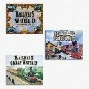 BUNDLE Railways of... (Railways of the world + Rails of Europe + Railways of Britain)