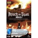 SAFEGAME Attack on Titan: Deck-Building Game + bustine protettive