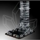 Backfire Dice Tower Crystal Twister