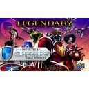 SAFEGAME Civil War - Legendary + bustine protettive