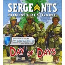SAFEGAME Day of Days: Sergeants Miniatures Game
