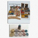 BUNDLE Scythe: Organizer + Set Monete in metallo