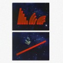 BUNDLE Set misurini Manovra + Misurini Fuoco (Rossi): Star Wars X-Wing