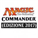 Magic the Gathering - Commander 2017 (set 4 mazzi)