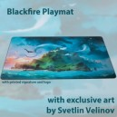 Blackfire Playmat - ISLAND (Svetlin Velinov) Ultrafine 2 mm (tappetino) - PM002