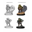 D&D Nolzur's Marvelous UnpaintedMiniatures - Halfling Male Rogue (6 Units)