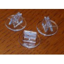 BUNDLE Basetta in plastica 1000 pz (Plastic Stands)