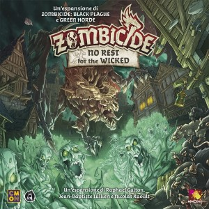 No Rest for the Wicked: Zombicide Black Plague ITA
