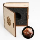 Gemstone Collectors Dice - Golden Sand Stone - BF08650