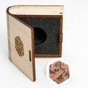 Gemstone Collectors Dice - Rhodonite with Black Line - BF08674