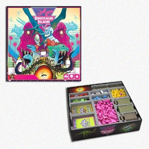 BUNDLE Dinosaur Island ITA + Organizer Folded Space in EvaCore