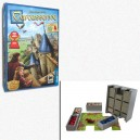 BUNDLE Carcassonne + Organizer scatola in EvaCore