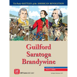 Tri-Pack: Battles of the American Revolution (Guilford, Saratoga, Brandywine)