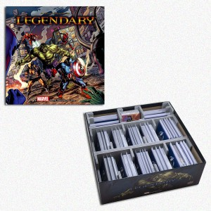 BUNDLE Legendary: A Marvel DB Game + Organizer Folded Space in EvaCore