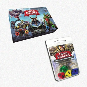 BUNDLE Hero Realms ENG + Set dadi
