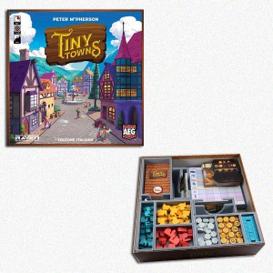 BUNDLE Tiny Towns ITA + Organizer Folded Space in EvaCore