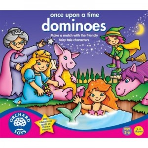 Once Upon a Time Dominoes
