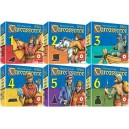 BUNDLE Carcassonne mini espansioni: The Flier + The Messages + The Ferries + The Goldmines + Mage & Witch + The Robber