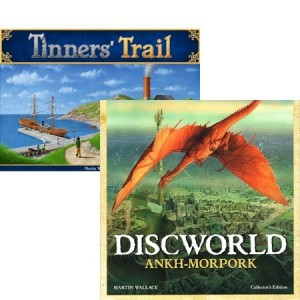 Wallace Masterpiece Bundle 2: Tinner's Trail ITA + Discworld Collector's edition ENG/ITA