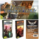 SAFEBUNDLE 7 Wonders: Wonder Pack + Leaders + Cities + 300 bustine protettive