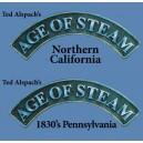 Age of Steam : 1830's Pennsylvania / Northern California