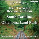 Age of Steam : 1867 Georgia Reconstruction, South Carolina & Oklahoma Land Rush