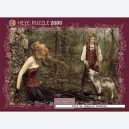 Puzzle 2000 pz Favole Wolf Art. 29250
