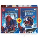 Puzzle 100 pz The Amazing Spider-Man + 3D Mini Puzzleball 54 pz Art.106943