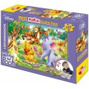 Puzzle 108 pz  Maxi Double-Face Disney Winnie the Pooh Art.31719