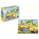 Puzzle 108 pz  Maxi Double-Face Disney Winnie the Pooh Art.37186