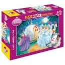 Puzzle 108 pz Maxi Double-Face Disney Princess Cenerentola Art.31603-d