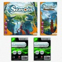 SAFEGAME Seasons ITA + Esp Enchanted Kingdom + bustine protettive