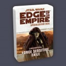 Force Sensitive Exile Specialization Deck: Edge of the Empire