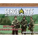 CWP Commonwealth Parachute - Airborne Team (esp. Day of Days: Sergeants Miniatures Game)