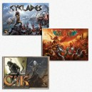 BUNDLE Cyclades + Kemet + C3K: Creatures Crossover
