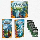 IPERSAFEBUNDLE Seasons ITA: gioco base + Enchanted Kinkdom + Path of Destiny + bustine protettive