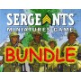 CWP/Ger Leader-Team BUNDLE - Sergeants Miniatures Game