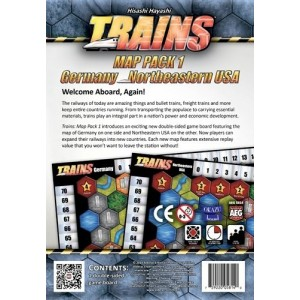 Map Pack 1: Trains