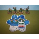 Heroscape - MacDirk Warriors (Jandar's Oath - Wave 3)