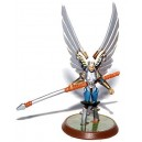 Heroscape - Raelin The Kyrie Warrior NO CARD (Rise of the Valkyrie)