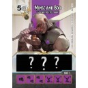 Minsc and Boo Promo Card and Die - Battle for Faerun: Dungeons & Dragons Dice Masters