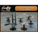 Customizable Ship Models - Firefly: The Game