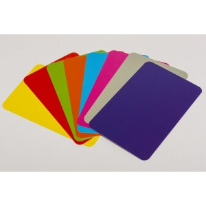Set di 33 carte da gioco colorate