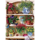 Flower Cupboard - Cobble Hill Puzzle 500 Pz.