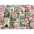Pink Flowers - Cobble Hill Puzzle 1000 Pz.
