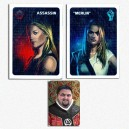 The Resistance: Merlin/Assassin Promo + Inquisitor Token