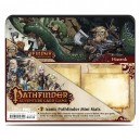 Pathfinder Iconic Mini Playmats 7 Pack - Pathfinder Adventure Card Game